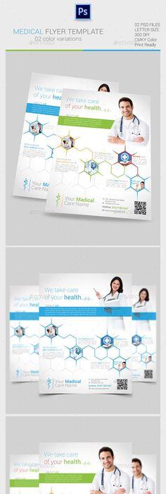 PremiumMedicalFlyerTemplates  Graphic Design
