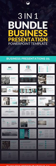 Business Presentation 3 Powerpoint Template Business