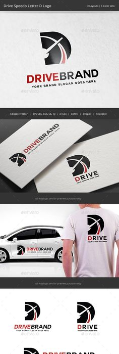 Pro Drive Car Letter P Logo Logos, Logo templates and Fonts