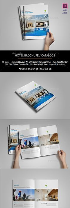Hotel Brochure / Simple A5 Catalogue
