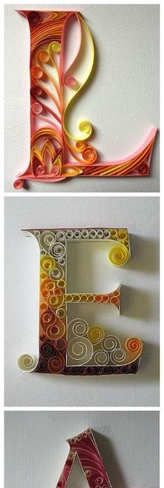 Scrapbook layout design using continuance to guide the eye layout diy paper letters totally awsome quilling art picture frame idea altavistaventures Images