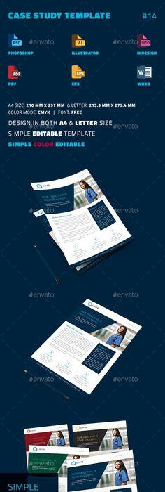 Case Study Template  Design    Template Case Study