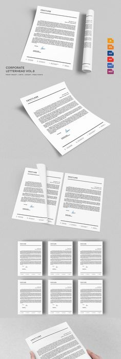 letterhead stationery templates template and letterhead template
