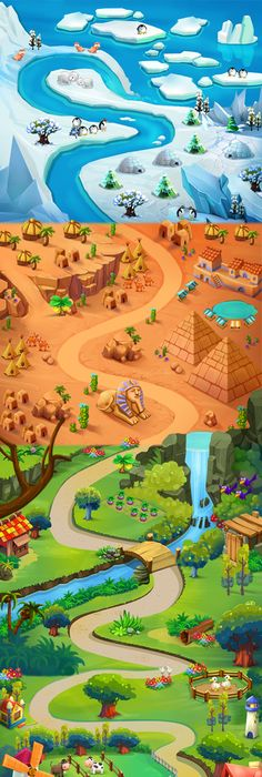 Casual game fantasy islands map bella game artist and illustrator megaplay games create super fun addictive games for everyone from all around the world to play in unique gaming experience and breathtaking designed gumiabroncs Choice Image