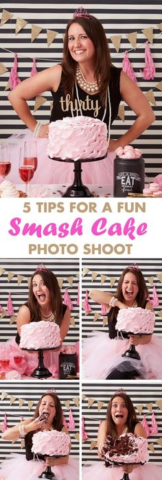 Trending Now: Adult Smash Cakes