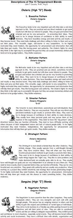 Does This Describe You You Are A C Personality According To The