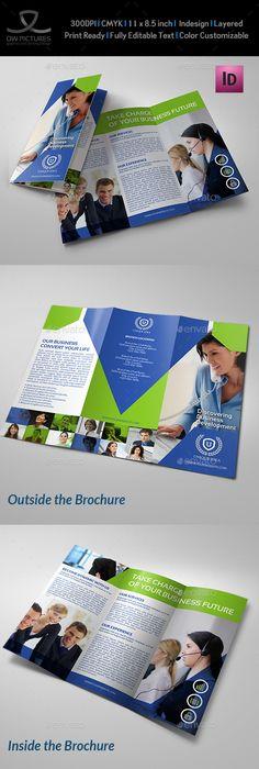 Landscape Bi Fold Template Brochure Template Brochures And Template