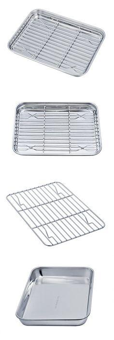 toaster ecolution bakeware oven dp piece cookware amazon set com nonstick