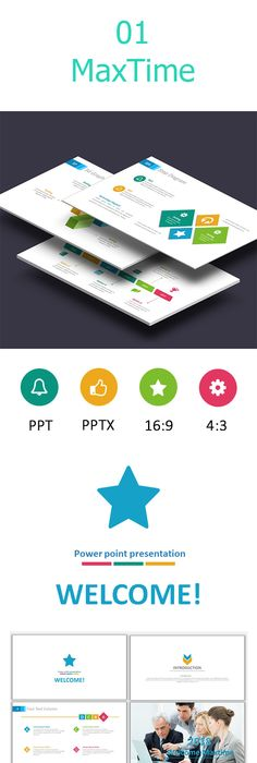 Tini Simple Clean Powerpoint Template Business Powerpoint