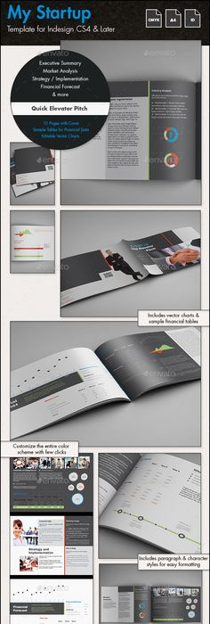 My Startup Quick Elevator Pitch Template A4 Template Business