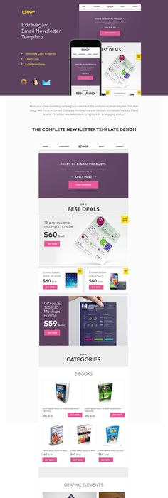 Newsletter Templates Free Email Templates  CakemailCom