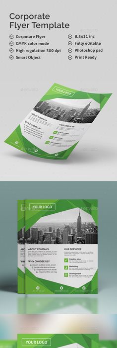 Accounting Firm Financial Advisor Business Flyer Template Psd