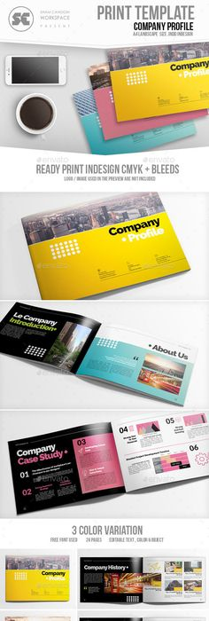 Company Profile Brochure 16 Pages A4 Company Profile Brochures And A4