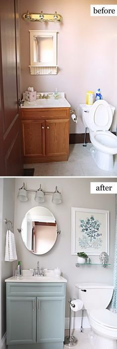 guest bathroom ideas. Before And After Makeovers: 23 Most Beautiful Bathroom Remodeling Ideas Guest H