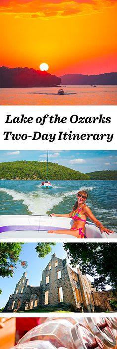 Mile Marker Map Of Lake Of The Ozarks  Lake-Of-The-Ozarks -4440