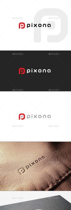 Probusiness  Letter P Logo Template  Vector Eps Corner