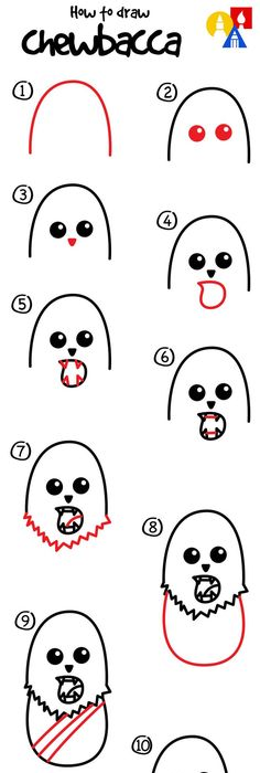 how to draw hedwig easy