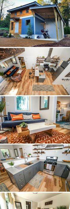 The urban micro house a 600 sq ft home from wind river tiny homes