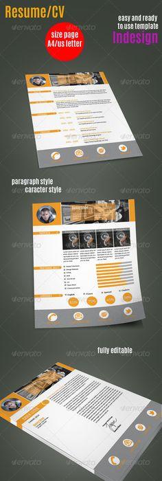 Like the timeline Resume Design Pinterest Resume cv, Template