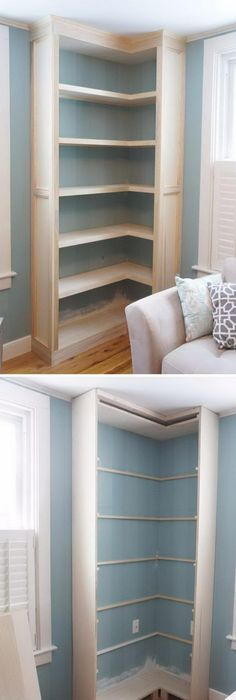20+ DIY Corner Shelves To Beautify Your Awkward Corner   Page 11 Of 26