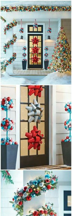 23 Christmas Outdoor Decoration Ideas Are Worth Trying Garlands
