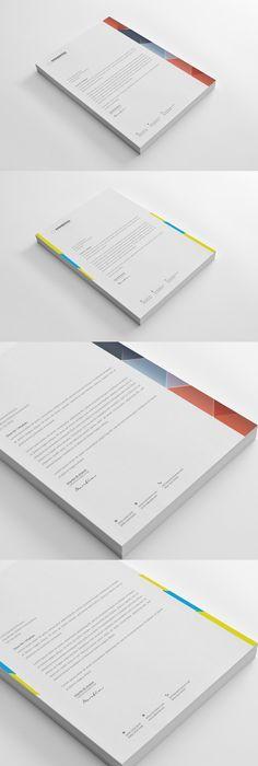 Corporate Business Letterheads Updated  Letterhead Template