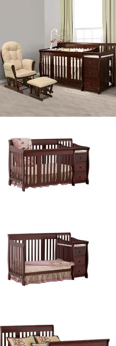 Nursery Furniture 20422: 4-In-1 Baby Crib And Changing Table Combo ...