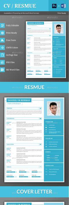 Contoh cv format word free download template cv kreatif 30 desain cv template psd ms word yelopaper Choice Image