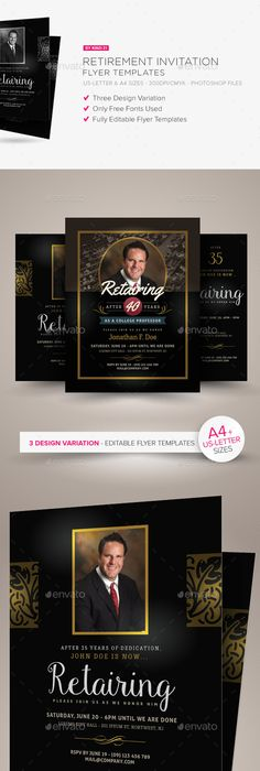 Retro Tea Party Flyer/Invitation Party Flyer, Flyer Template And