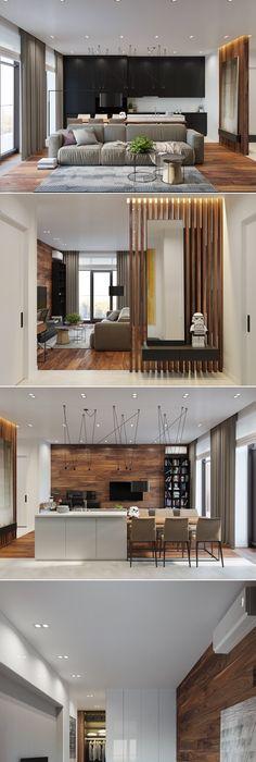 Интерьер другой студии. Modern ApartmentsModern HomesInterior Design ...