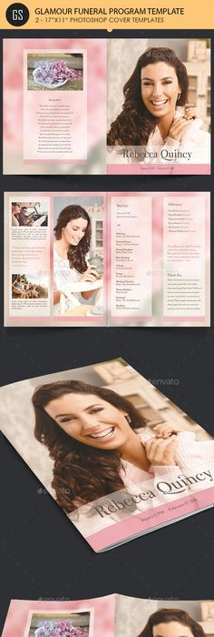 Funeral Program Template by Forever Yours on Etsy. Also known as ...