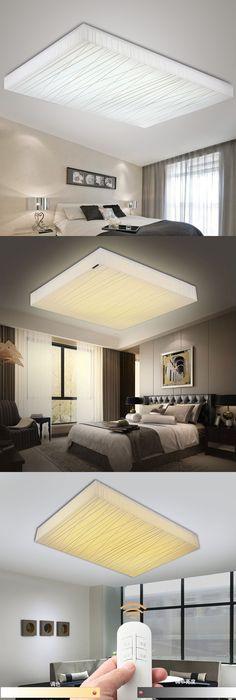 Hot Modern Led Square Ceiling Lights For Living Room Bedroom Home  Decoration Ceiling Lamp Lighting Light Fixtures