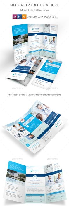 Medical trifold brochure template psd vector eps indesign indd ai medical trifold brochure 4 saigontimesfo