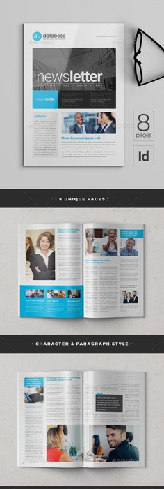 Medical Newsletter  Company Newsletter Templates  Layout