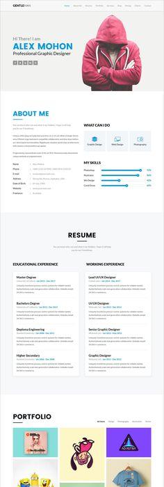 Resume  Cv  Bootstrap Theme  Resume Cv