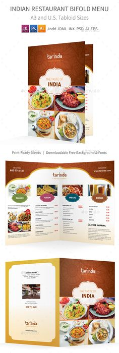 Indian Restaurant Responsive Landing Page Template | Template ...