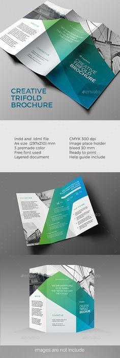 Creative Business TriFold Brochure Template Psd Design Download