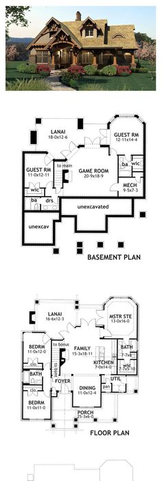 craftsman style cool house plan id: chp-43645 | total living area