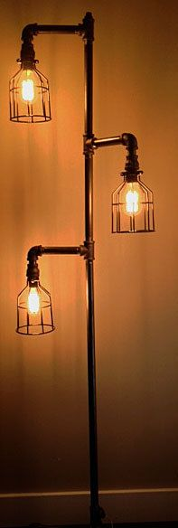 How to make an industrial pipe floor lamp | How About Orange ...