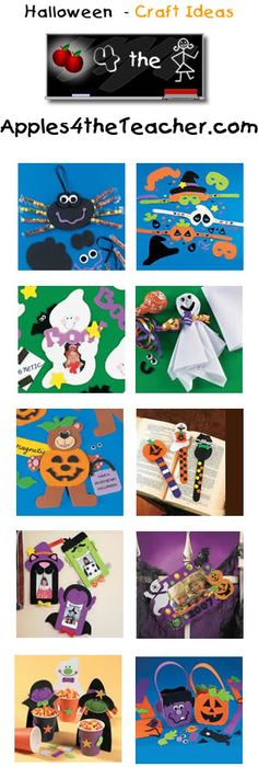 Ghost Photo Magnet Craft Kit Halloween craft ideas for children - halloween kids craft ideas
