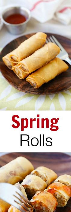 40 delightful orange recipes dinners desserts fried spring rolls the best and crispiest spring rolls recipe ever filled with vegetables and forumfinder Images