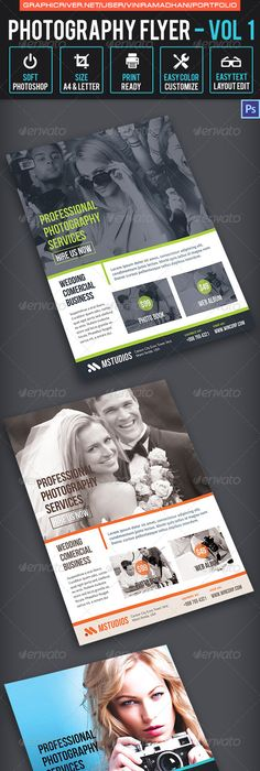 Instant Download Photography Flyer Design  Mini Session Template