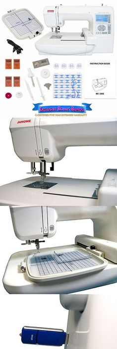 Janome Memory Craft 200e Embroidery Machine Embroidery And Sewing