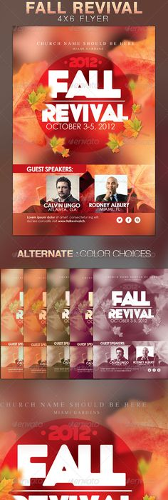 Church Community Event Poster Flyer Indesign Templates