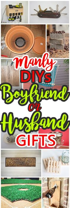 35 easy diy christmas gifts for your family and friends navidad do it yourself manly gift ideas for boyfriends husbands sons brothers uncles solutioingenieria Choice Image
