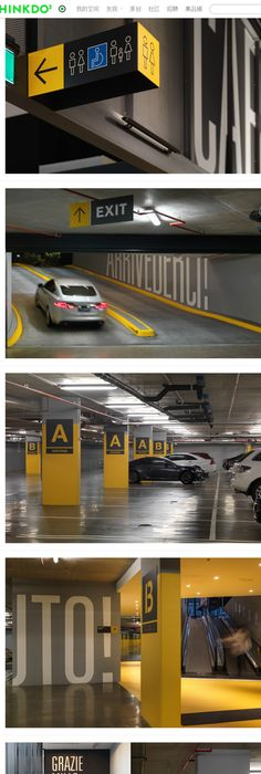 Garage wayfinding signage design google search parking