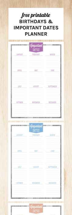 Home Management Binder  Important Dates  Binder Management And