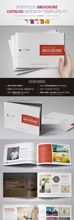 Portfolio Photographer Photographers Brochures And Layouts