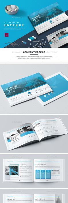 Company Profile Template InDesign INDD   Inspire for work ...