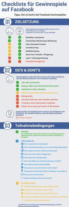 Infografik - die 7 Todsünden auf Facebook Online marketing, Online - küchen quelle gewinnspiel